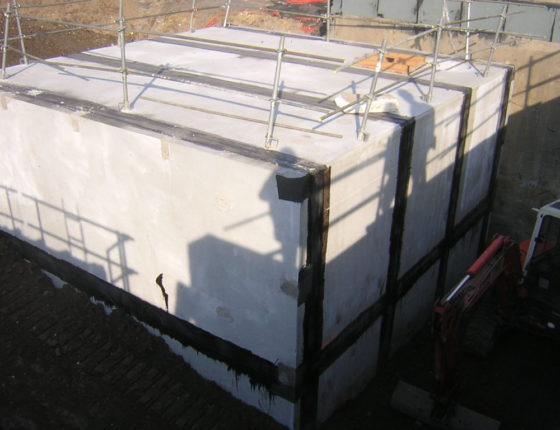 bassin stockage