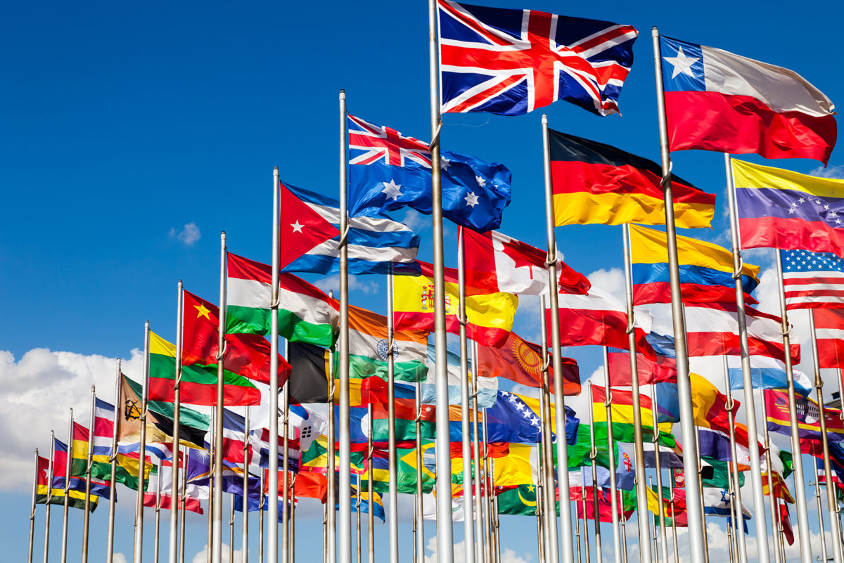 header article drapeaux